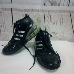Men's Adidas Bounce Black Sneakers Shoes Size 10